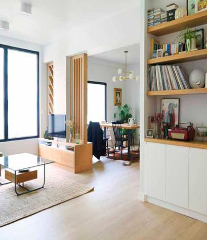 interior de vivienda salón