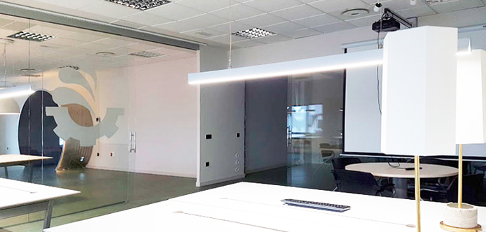 fotografia interior oficina